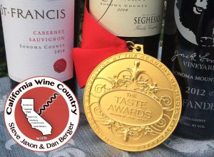california wine country taste award 2017